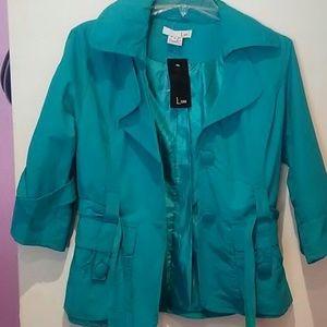 NWT turquoise Blazer